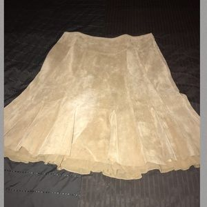 Suede Skirt by Context